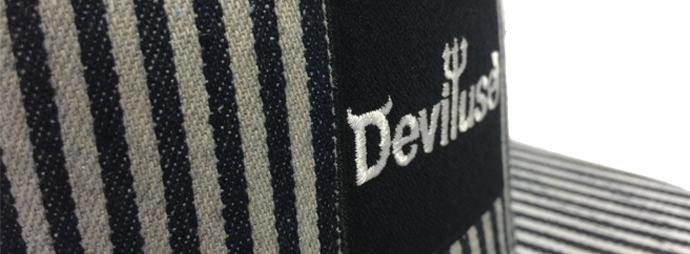 Badge like Flat embroidery