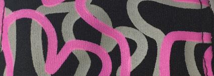 custom pattern in allover screen print