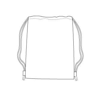style for drawstring bag