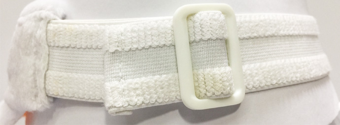 plastic sliding buckle with elastic band