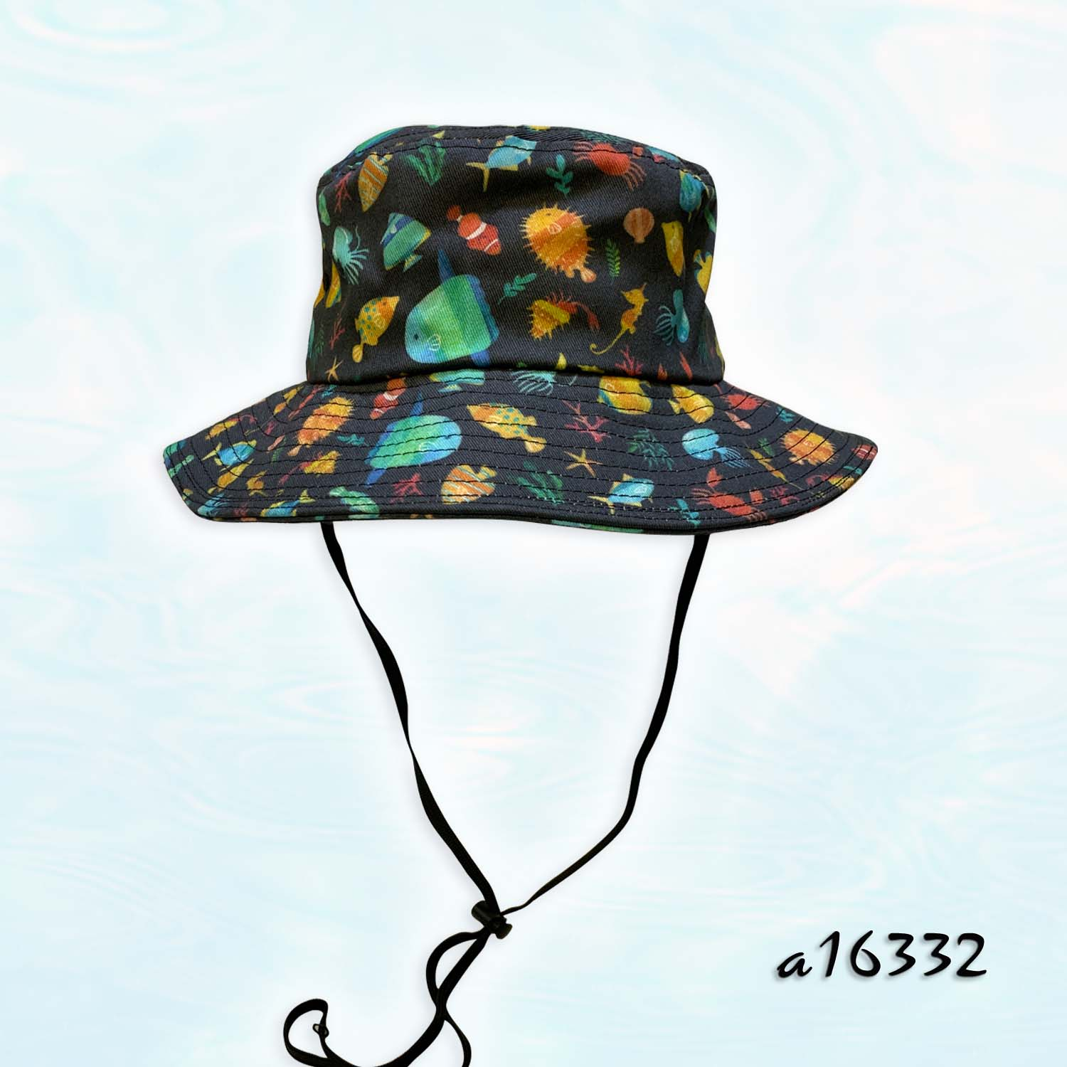 Cotton Digital Printed Bucket Hat