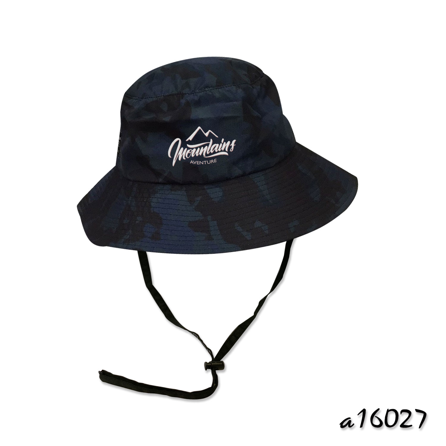 Camouflage printed mountain hat a16027