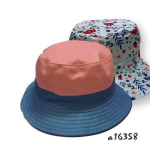 Versatile two tone hat a16358
